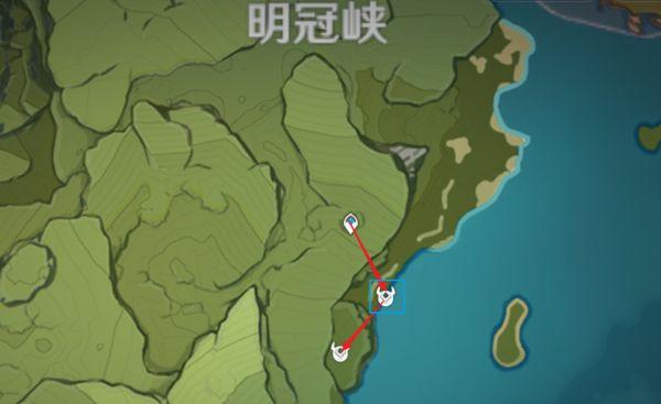 原神-鍾離突破材料採集路線規劃 37