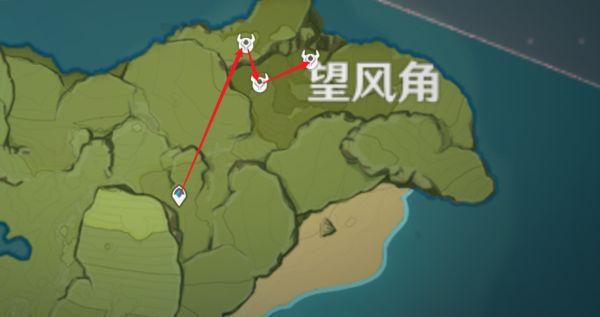 原神-鍾離突破材料採集路線規劃 39