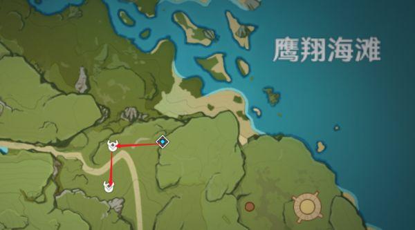 原神-鍾離突破材料採集路線規劃 43