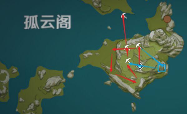 原神-鍾離突破材料採集路線規劃 19