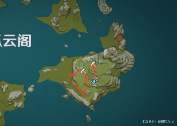 原神-高效採集石珀路線 27