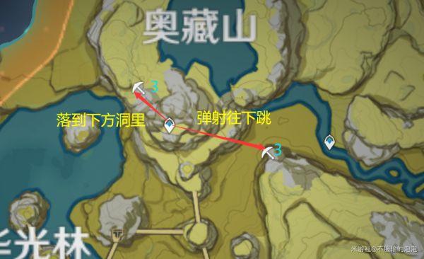原神-高效採集石珀路線 5