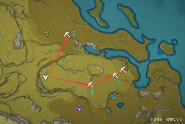 原神-高效採集石珀路線 9