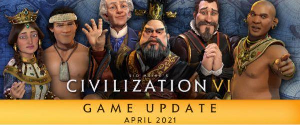 文明6-2021年4月更新內容 1