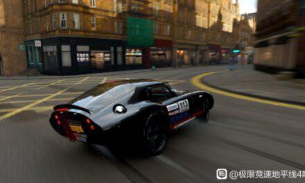 極限競速地平線4-戴通納黑紅塗裝