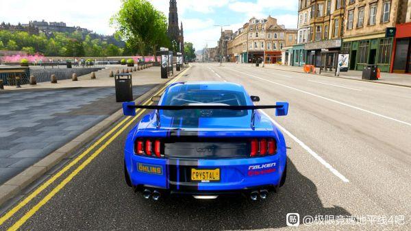 極限競速地平線4-野馬藍色塗裝 9