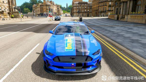極限競速地平線4-野馬藍色塗裝 11