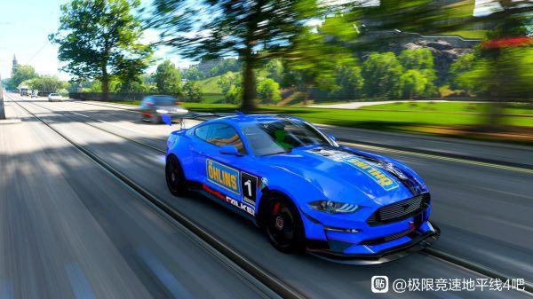 極限競速地平線4-野馬藍色塗裝 15