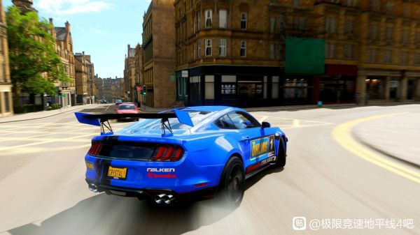 極限競速地平線4-野馬藍色塗裝 1