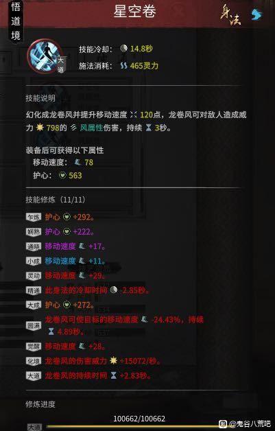 鬼谷八荒-洪荒難度風劍流悟道畢業Build 7