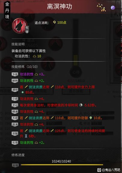 鬼谷八荒-洪荒難度風劍流悟道畢業Build 19