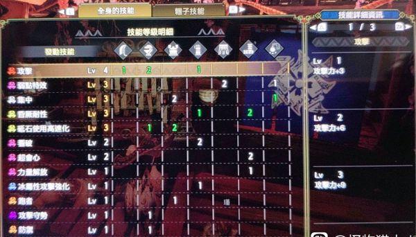 魔物獵人崛起-弱特3集中3大劍配裝 5