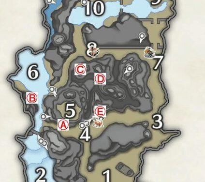 魔物獵人崛起-礦石分佈位置分享