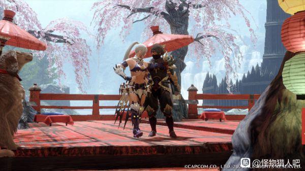 魔物獵人崛起-美型弓自帶攻大配裝 11