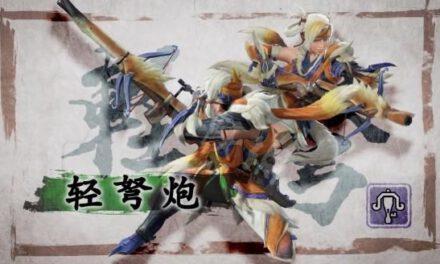 魔物獵人崛起-迅輕貫2速射輕弩配裝