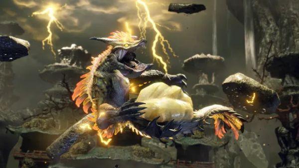 魔物獵人崛起-雷神龍蓄電機制簡述 1