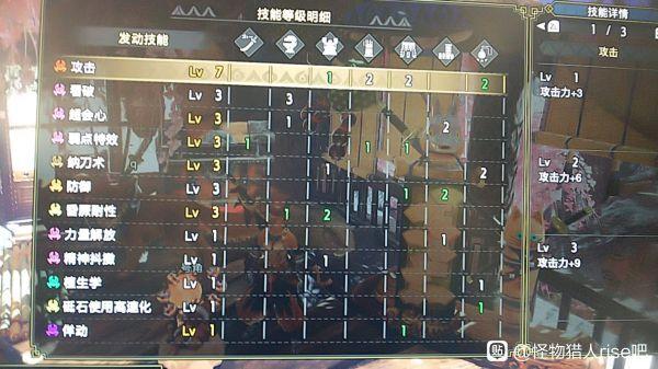 魔物獵人崛起-2.0版本三套轟龍太刀配裝 9