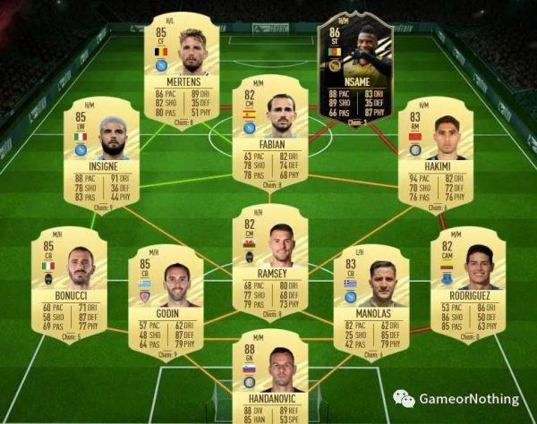 FIFA21-大決戰洛塞爾索SBC作業 9