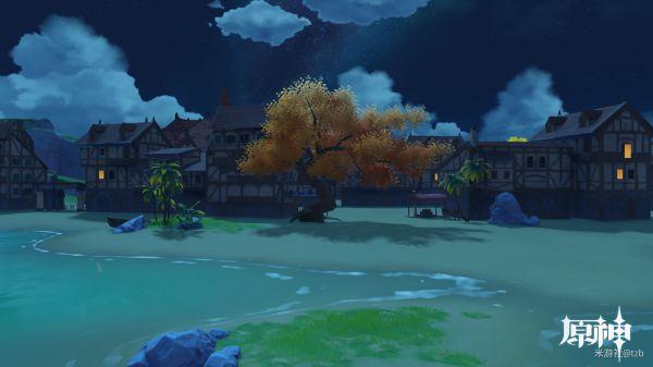 原神-塵歌壺海邊小鎮設計參考 19