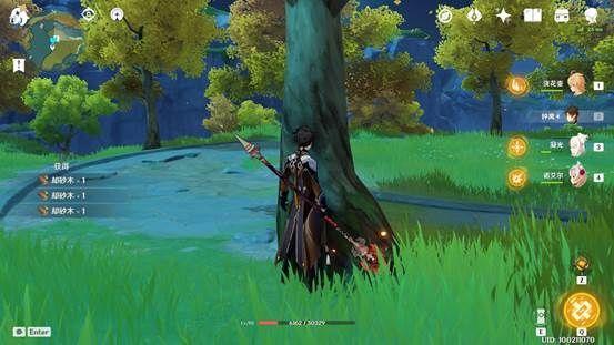 原神-快速收集各類木材 7