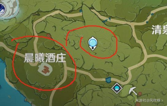 原神-晶核採集地點 21