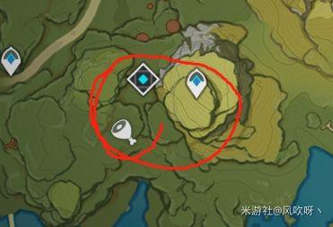 原神-晶核採集地點 9