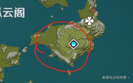 原神-晶核採集地點 11