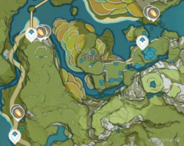 原神-石珀作用與快速採集路線 17