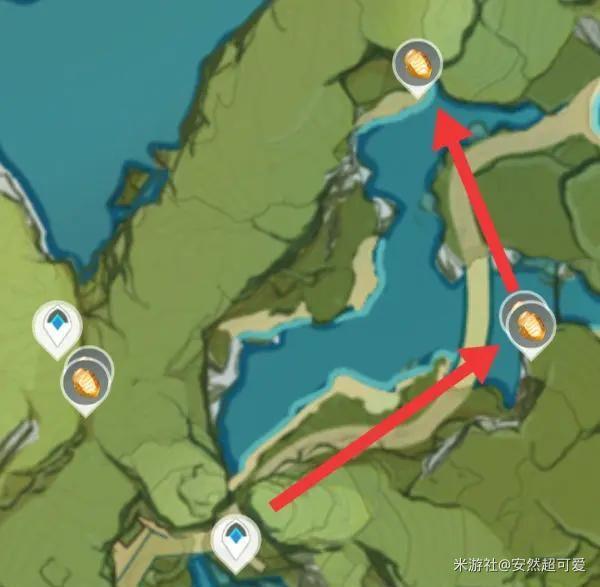 原神-石珀作用與快速採集路線 19