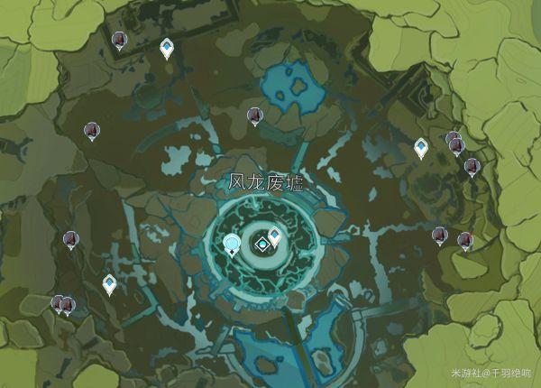 原神-鐵塊採集點位標注 15