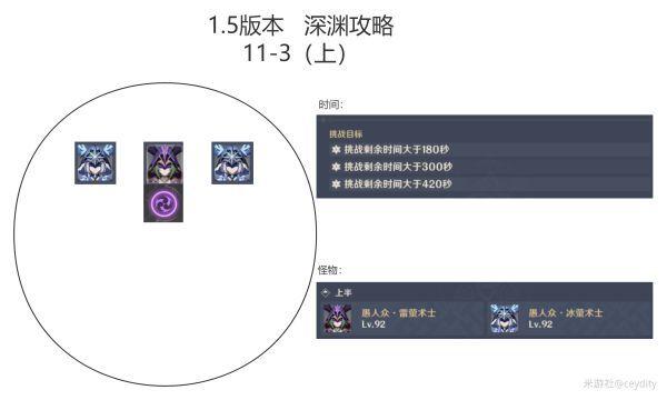 原神-1.5版深淵11、12層打法及隊伍配置指南 5