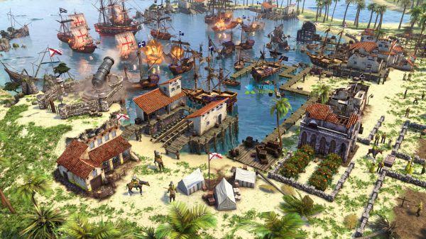 帝國時代3決定版-美國卡片升級 1