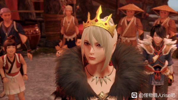 魔物獵人崛起-女王樣式防具幻化參考 1
