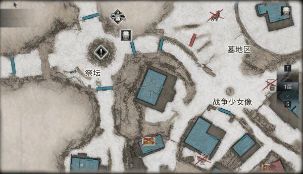 生化危機8-地圖全藍 易錯過物品位置分享 11