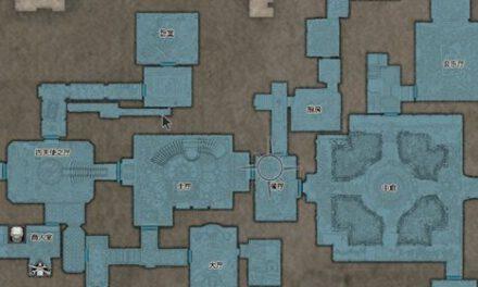 生化危機8-地圖全藍 易錯過物品位置分享
