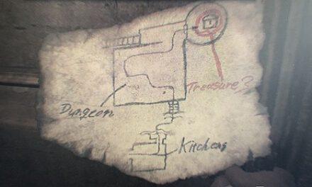 生化危機8-城堡閣樓藏寶圖寶藏入手
