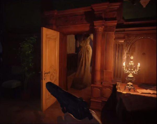 生化危機8-夫人身高及城堡內部格局細節 13