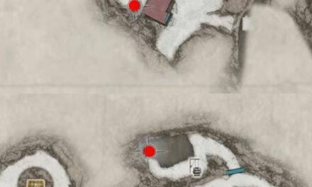 生化危機8-屋外廁所門位置分享標注