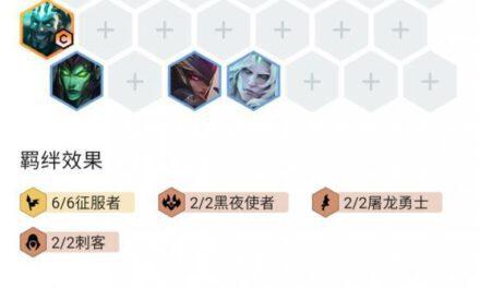 雲頂之弈-11.10版征服者德萊文陣容