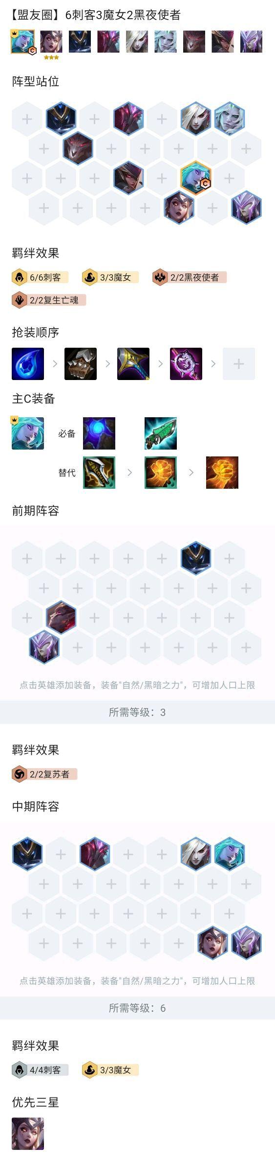雲頂之弈-11.10版魔女卡特陣容運營思路 1