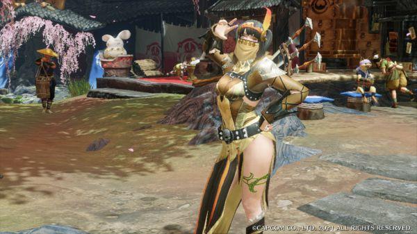 魔物獵人崛起-五套女角色幻化裝備 19
