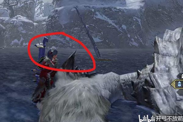 魔物獵人崛起-冰牙龍大小金體型參考 5