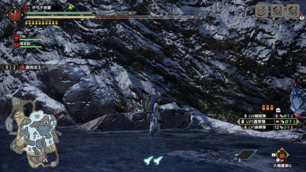 魔物獵人崛起-冰牙龍大小金體型參考 15