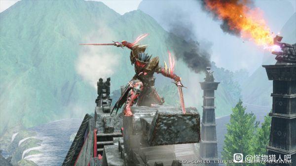 魔物獵人崛起-男角色假面騎士幻化 3