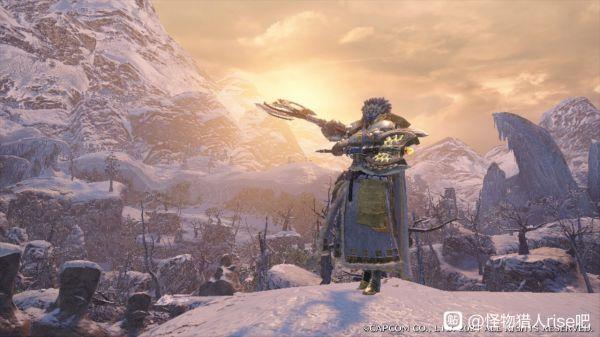 魔物獵人崛起-男角色雪境騎士幻化外觀 3