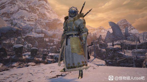魔物獵人崛起-男角色雪境騎士幻化外觀 5