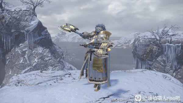 魔物獵人崛起-男角色雪境騎士幻化外觀 7