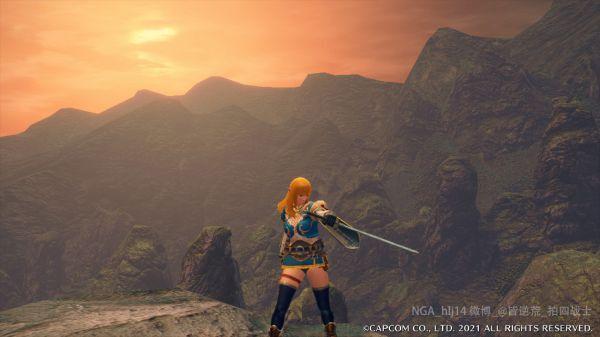 魔物獵人崛起-荒野之息塞爾達公主幻化 1