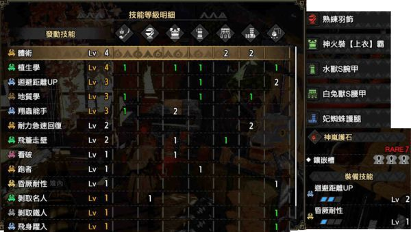 魔物獵人崛起-2.0版回距採集套配裝 7