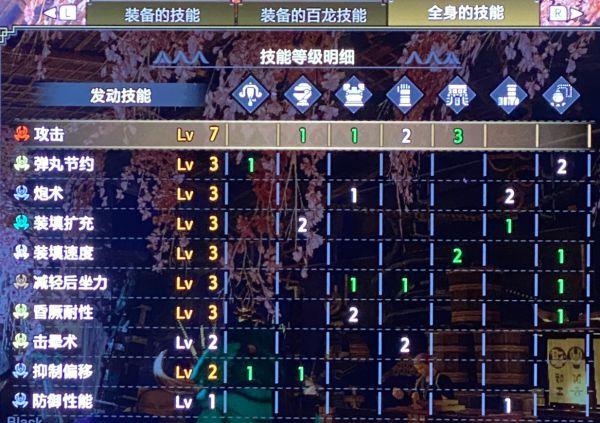 魔物獵人崛起-2.0版怨虎輕弩攻擊7配裝 11